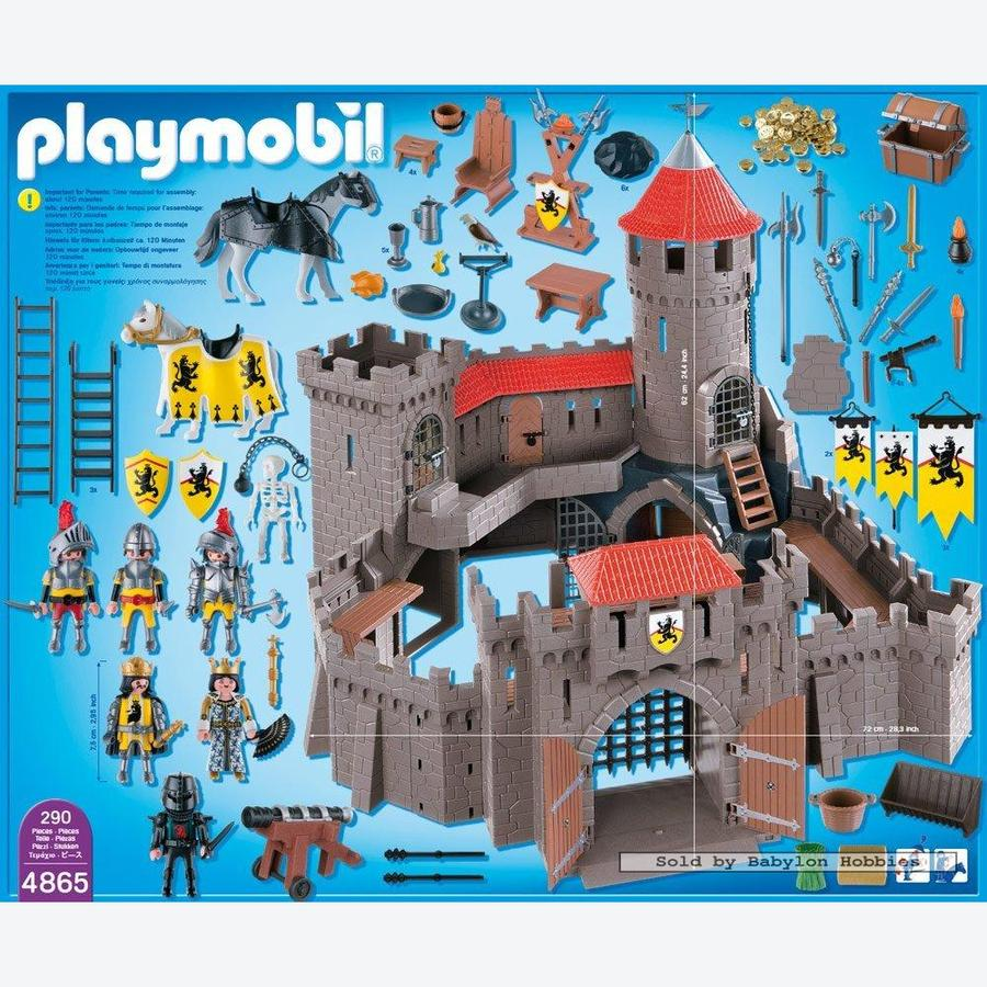 kasteel van de leeuwenridders playmobil knights door. Black Bedroom Furniture Sets. Home Design Ideas