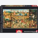 Afbeelding van 9000 st - The Garden of Earthly Delights - Bosch (door Educa)