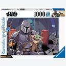 Afbeelding van 1000 st - Star Wars The Mandalorian - Star Wars (door Ravensburger)